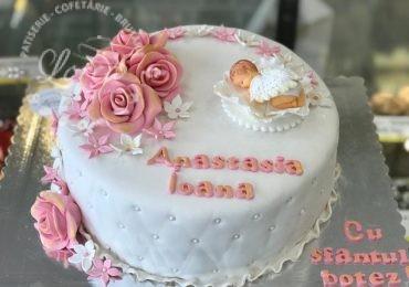 Tort botez Anastasia